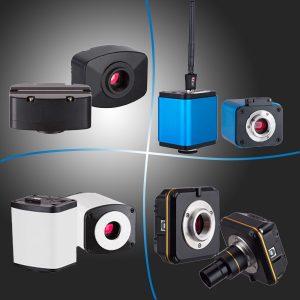 CMOS Mikroskopske Kamere