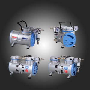 Membranske vacuum pumpe